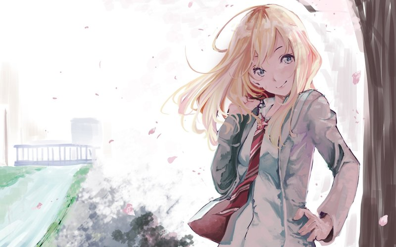 Download Wallpaper From Anime Your Lie In April With Tags