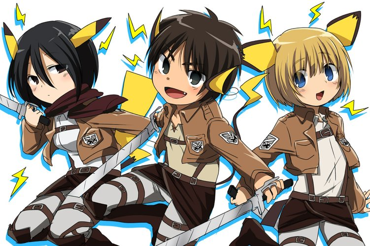 Download Wallpaper From Anime Attack On Titan With Tags Laptop Eren Yeager Mikasa Ackerman Armin Arlert