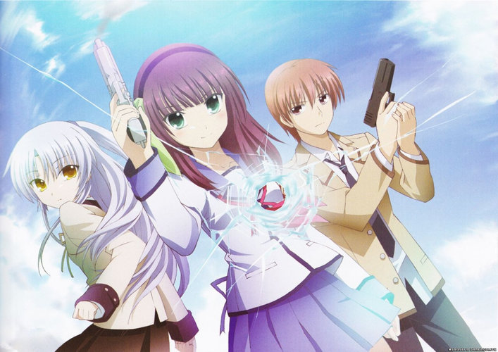 Download wallpaper from anime Angel Beats! with tags: Free