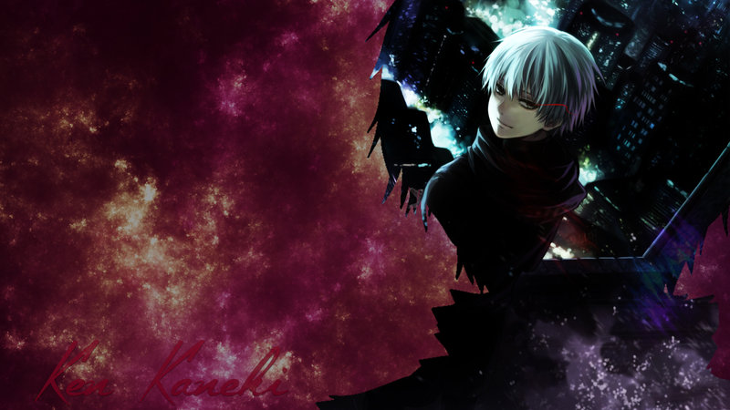Download wallpaper from anime Tokyo Ghoul with tags: PC, Ken