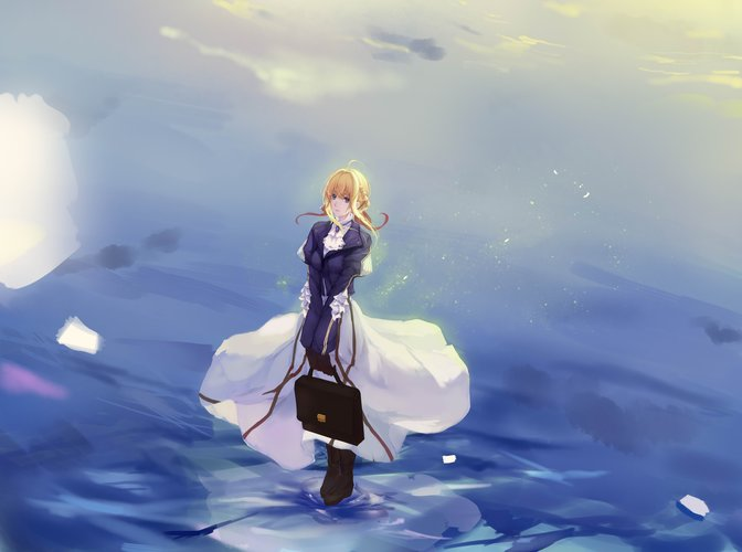 Violet Evergarden Download Wallpaper