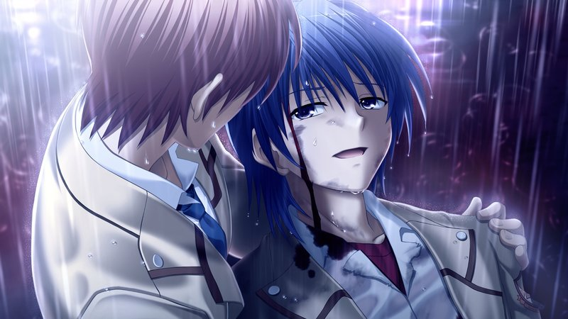 Download wallpaper from anime Angel Beats! with tags