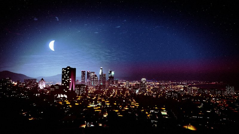 Download Wallpaper From Game Grand Theft Auto V With Tags Night