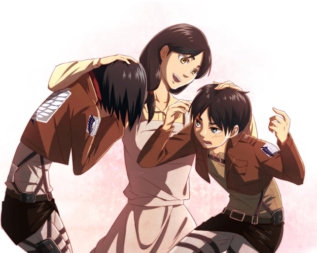 Download Wallpaper From Anime Attack On Titan With Tags Laptop Eren Yeager Mikasa Ackerman Shingeki No Kyojin Carla Yeager