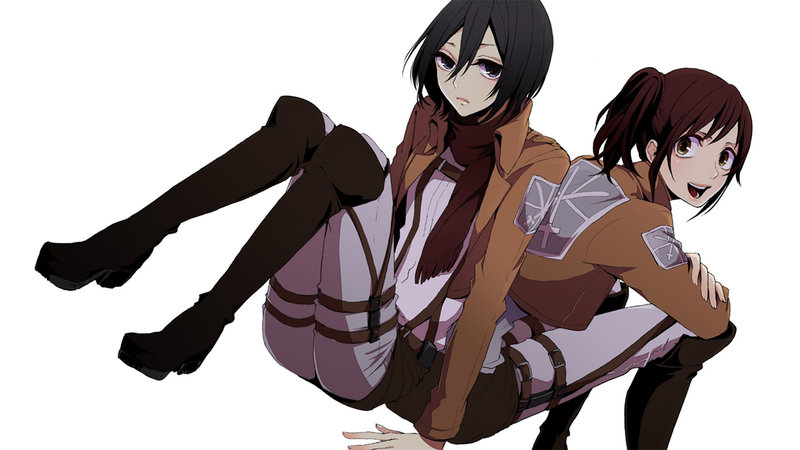 Download Wallpaper From Anime Attack On Titan With Tags Pictures Mikasa Ackerman Sasha Blouse