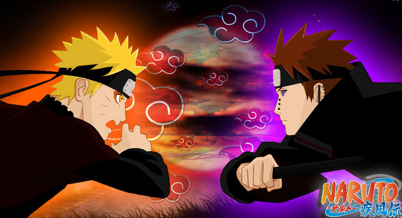 Download Wallpaper From Anime Naruto With Tags Pain Macbook Air
