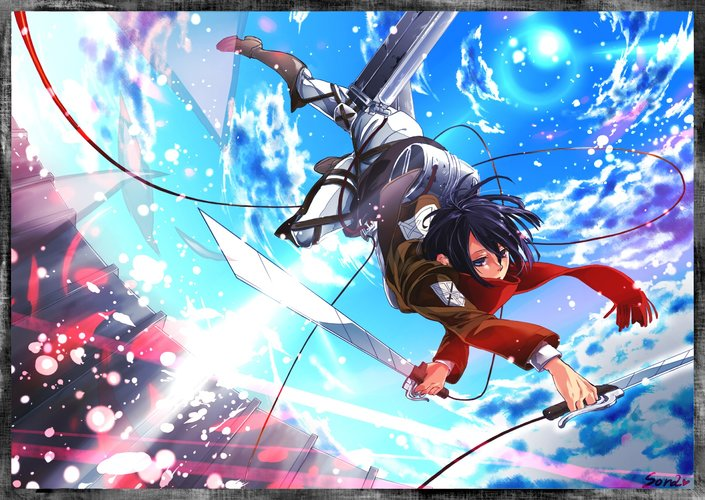 Download Wallpaper From Anime Attack On Titan With Tags Cool Mikasa Ackerman Shingeki No Kyojin