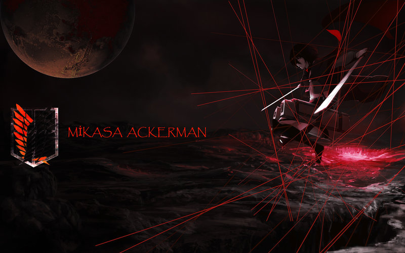 Download Wallpaper From Anime Attack On Titan With Tags Desktop Mikasa Ackerman