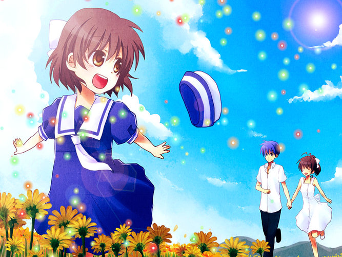 Download Wallpaper From Anime Clannad With Tags Nagisa Furukawa