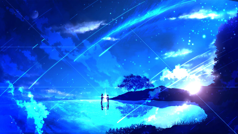 Download wallpaper from anime Your Name. with tags: Screen