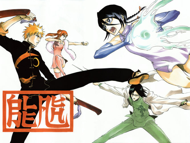 Download wallpaper from anime Bleach with tags: Full screen